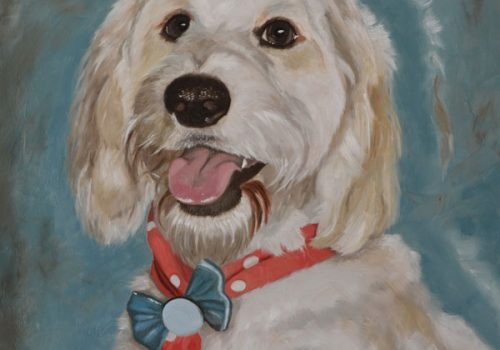 Buster Oil Painting