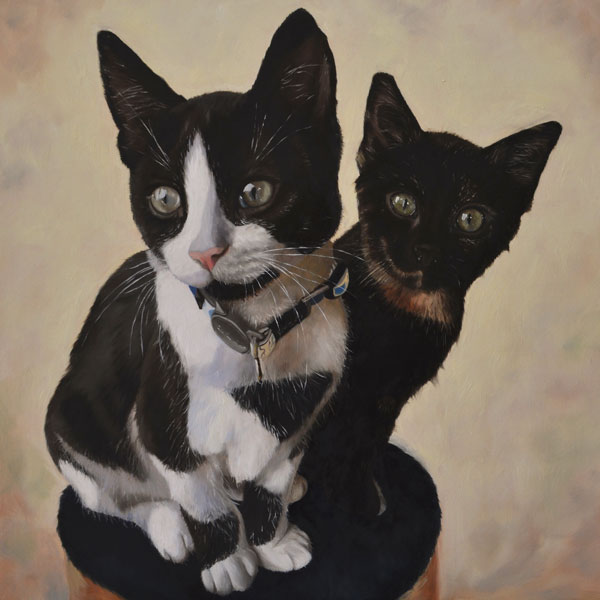 Double Cat Portrait